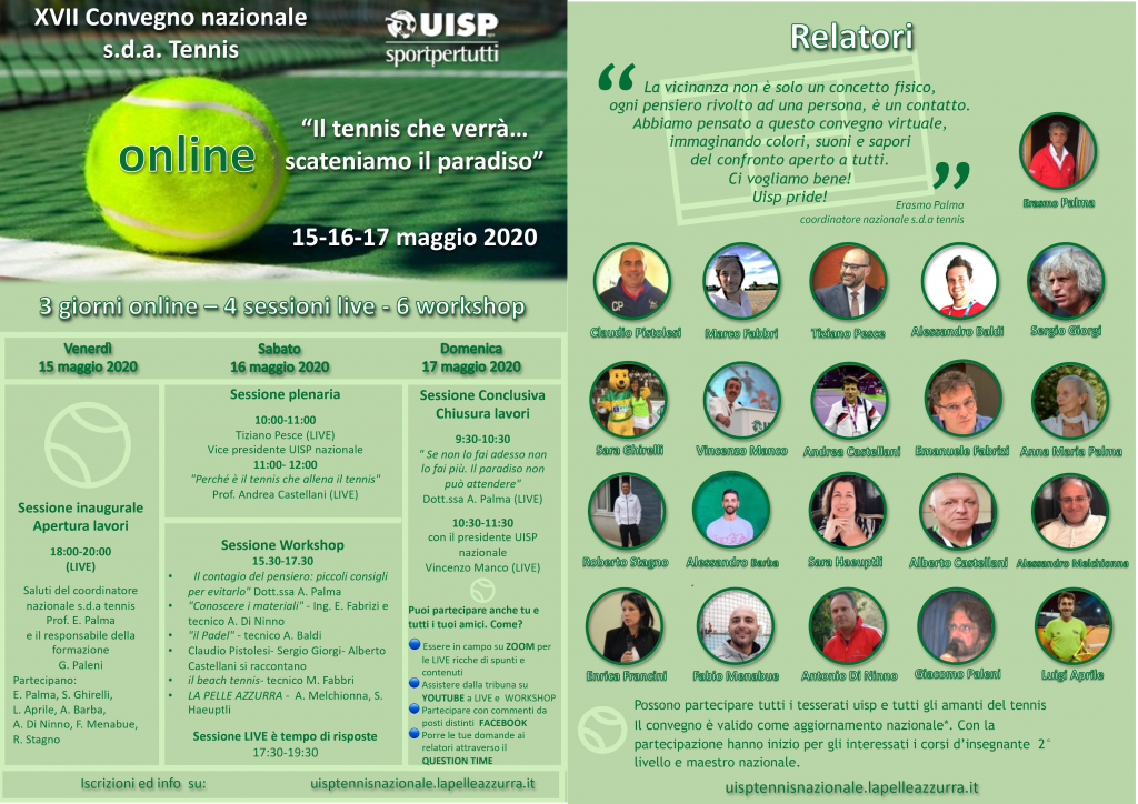 Locandina XVII Convegno nazionale
